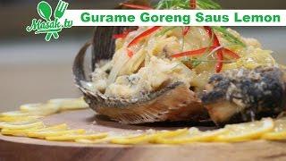 Gurame Goreng Saus Lemon
