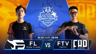 Team Flash vs FAPtv | FL vs FTV [Vòng 9 - 28.08] - ĐTDV Mùa Đông 2019