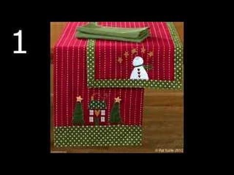Tischläufer Weihnachten In Patchwork