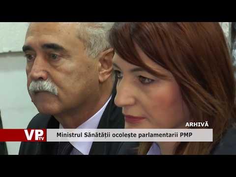 Ministrul Sănătății ocolește parlamentarii PMP
