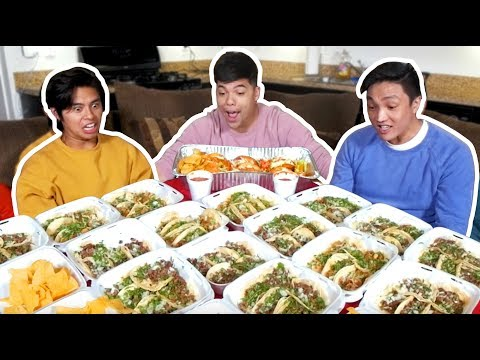 100 TACOS in 10 Min Challenge (The Last Episode) | D-trix