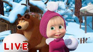 Masha e o Urso - Animações de inverno ⛄ Todos os episódios em sequência 🎬