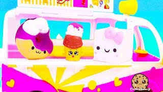 Squishy Marshmallow Sells Ice Cream  - Cookie Swirl C Toy Video
