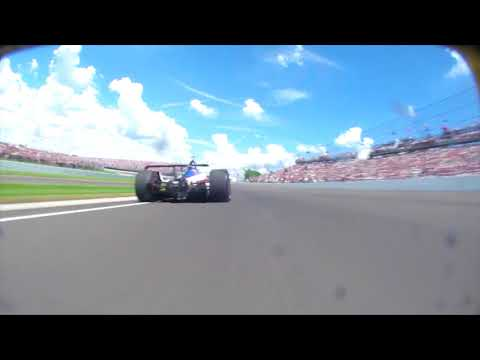 NOSE CAM: Helio Castroneves at the 102nd Running of the Indianapolis 500