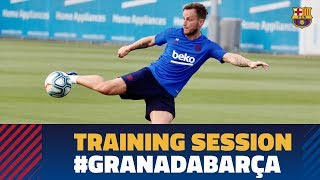 TRAINING SESSION | Ready for the game against Granada!