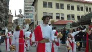 preview picture of video 'CARNEVALE FOLLONICA - (2-2) RIONE 167 OVEST - PALAZZO DI GIUSTIZIA - FOLLONICA 16-2-2014'