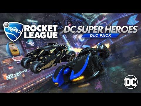 DC Super Heroes DLC Trailer de Rocket League