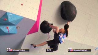 Boulder World Cup 2015 - Hard Moves Part 1 by Psyched Bouldering