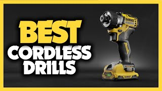 Best Cordless Drills in 2021 - 5 Picks For Home Use, Concrete & Metal