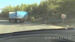 preview picture of video 'Silifke - Yeşilovacık - Büyükeceli - Aydıncık Yolu D-400'