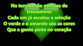 Coração Verde E Amarelo
