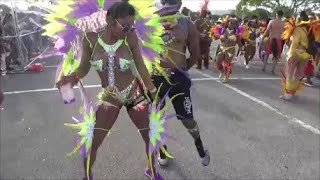 WEST INDIAN CARNIVAL MIAMI 2018 - CARIBBEAN GIRLS PARADE IN CARIBBEAN ISLANDS CARNIVAL COSTUMES