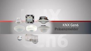 Die B.E.G. KNX-Präsenzmelder Gen6