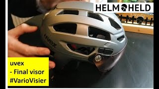 Uvex - final visor (V) vario - vorgestellt (Deutsch) - powered by helmheld.de