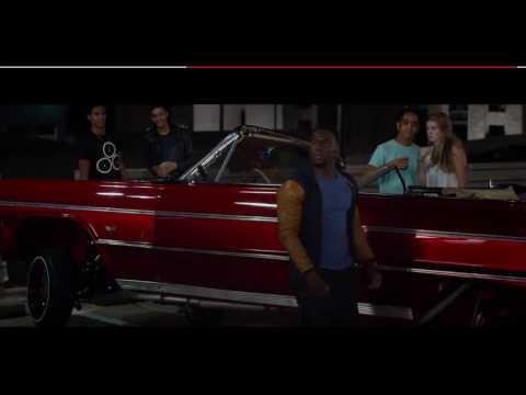 Ride Along 2 - Kevin Hart Car Scene