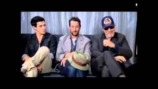 """""""Рухнувшие небеса""""или""""Сошедшие с небес"""", Falling Skies: San Diego Comic-Con EW Interview (July 13th, 2012)"""