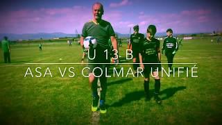 U13B ASA vs Colmar Unifié
