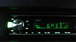 Bluetooth Car Radio MP3 Player Stereo - (SWM508) - Test & Review