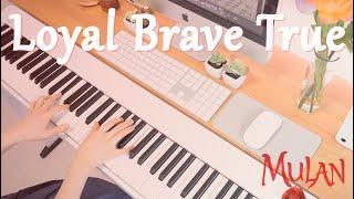 Loyal Brave True |  뮬란 2020 OST