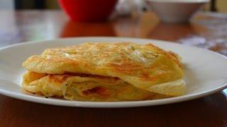 Malaysian Flat Bread - Roti Canai - Full Recipe HD