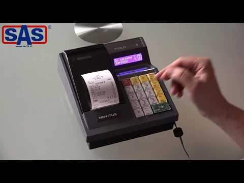 Skrócone szkolenie z obsługi kasy Novitus Mała Plus E