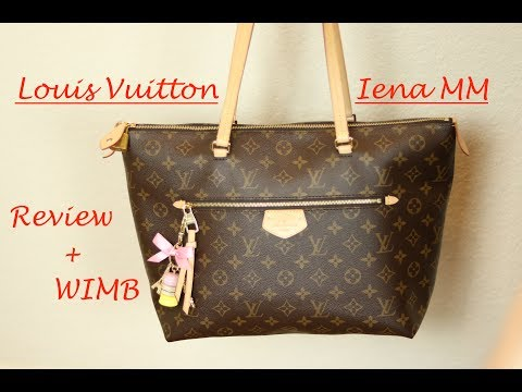 REVIEW + WHAT'S IN MY BAG LOUIS VUITTON Iena MM