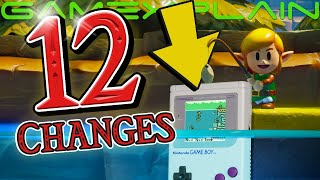 12 BIG Changes in Zelda: Link's Awakening on Switch!