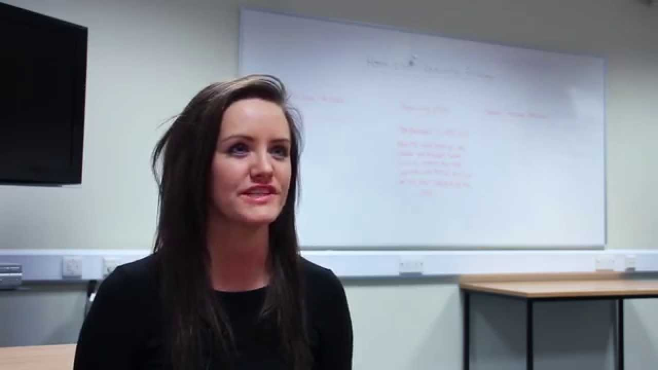 Rebecca, BEd (Hons) Education, talks about the outstanding Ofsted reputation of her course, and how it's given her a rich learning experience and fantastic teacher training.