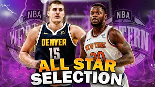 OFFICIAL 2021 NBA ALL-STAR GAME SELECTIONS!