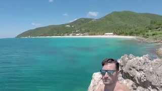 preview picture of video 'Hunters Beach in Antigua'
