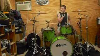 The Upset Victory - Signals Drum Cover by Jacob Tolle