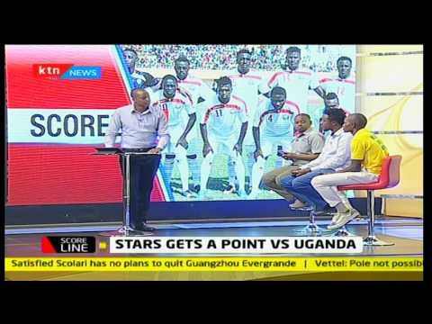 Scoreline: Harambee Stars draw with Uganda in game played in Machakos