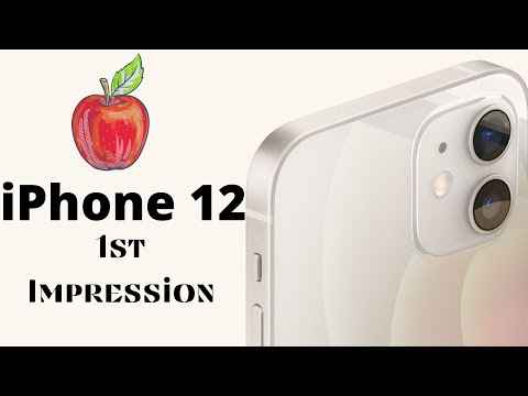 Apple iPhone 12: First Impression