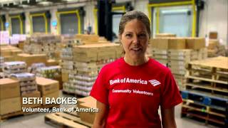 Greater Chicago Food Depository, Chicago. Bank of America for Red Thread Productions