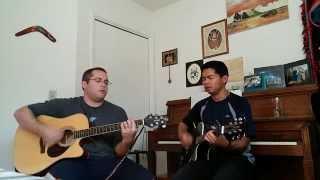 Let the river flow acoustic cover