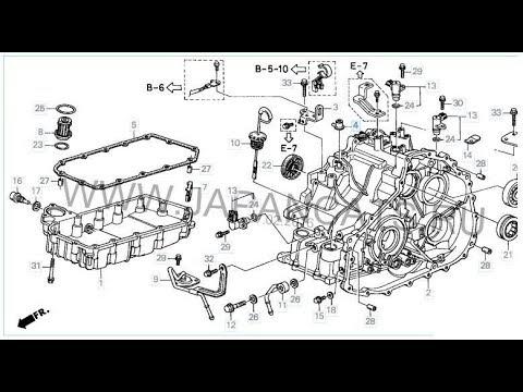 Разборка и промывка гидроблока вариатора MEKA Honda Capa