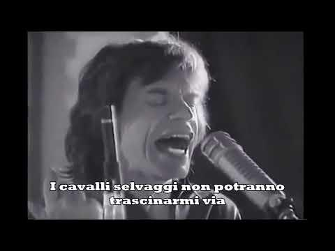 Rolling Stones   Wild Horses (traduzione in italiano)