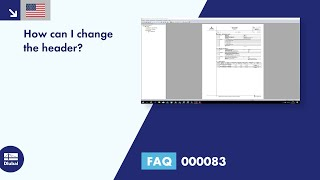 FAQ 000083 | How can I change the header?