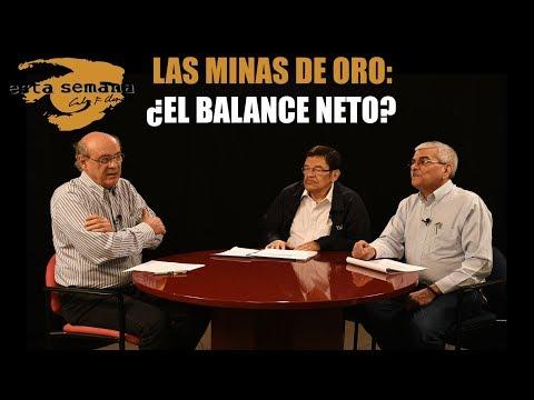 El debate sobre el impacto económico, social y ambiental de las minas de oro
