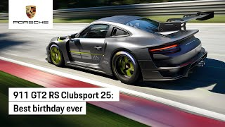 911 GT2 RS Clubsport 25 – Manthey-Racing's special birthday gift