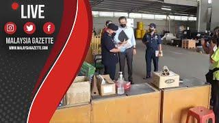 MGTV LIVE :  Operasi Bersepadu Pematuhan SOP PKP 3.0 Di Kilang Sekitar Segambut