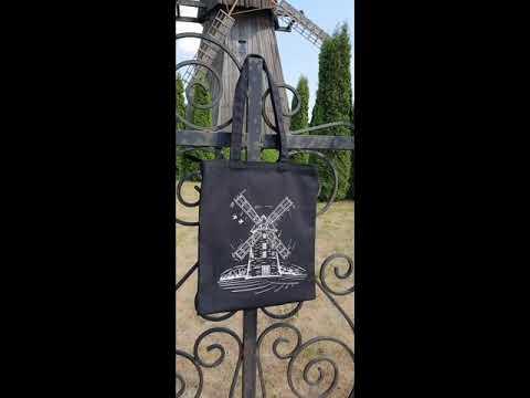 фото   сумка на замке с карманом, принтом  0