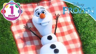 Frozen | Olaf Sing-A-Long: In Summer | Disney Junior UK