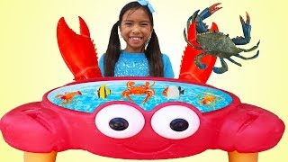 Wendy Pretend Play Catch Sea Animals With Crab Claw Toy Hands