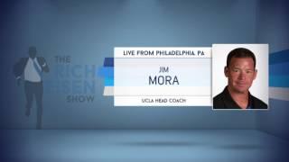 UCLA Head Football Coach Jim Mora on NFL Draft & More - 4/27/17