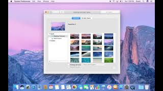 How to Change Desktop Background, Screen Saver, and Dock in macOS