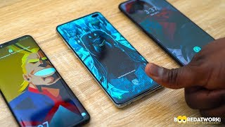 Samsung Galaxy S10+ vs Huawei Mate 20 Pro vs OnePlus 6T: UD Fingerprint Test