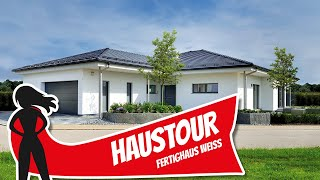 Haustour: Moderner Bungalow Für Barrierefreies Wohnen Von Fertighaus Weiss | Hausbau Helden