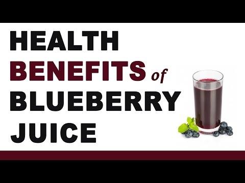 Video Blueberry Juice Health Benefits