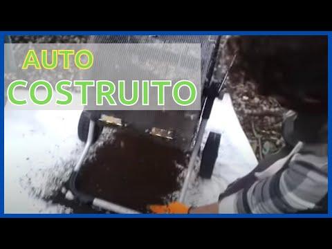 Setaccio rotante per il compost (Auto-costruito) - Permacultura